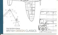 QE2 BRITISH DESIGN CLASSICS PRESTIGE BOOKLET DX44 2009