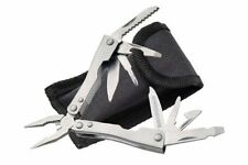 "New! 2.5"" Mini Pliers Stainless Steel 9 Multi-tool Folding Knife w/ Sheath"
