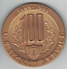 US Mint Medaille auf 100 Jahre U.S. Secret Service 1865 - 1965