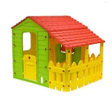 Casetta in PVC per bambini senza spigoli 118x146x127 cm