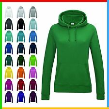 LADIES HOODIE, AWDIs Girlie College Hoodie, Front Pouch, Soft Ringspun Cotton