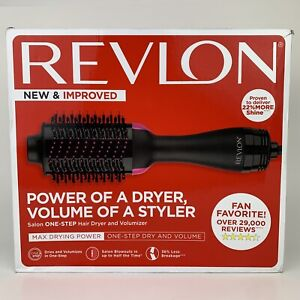 Revlon One-Step Hair Dryer & Volumizer Hot Air Brush Pink RVDR5222 OPEN BOX, NEW