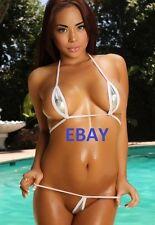 Sesy Tiny G-String Bikini Cheerleader Babe 4X6 Photo Picture   Hooters Girl  69