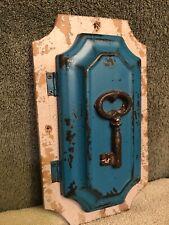 Vintage Tin Key cabinet Holder Wall Mount