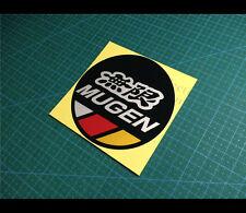 無限 MUGEN Fuel Cap POWER CIVIC TYPE R Honda JDM Reflective car decal Sticker #002