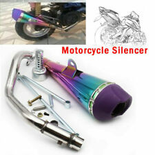Motorcycle Bikes Exhaust Muffler Baffle Tail Pipe Fit For Yamaha 100 Super Loud
