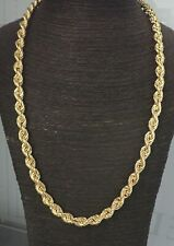 """9ct Gold Rope Chain - 9mm Wide  - 66.2 grams - 28"""" NO OFFERS"""