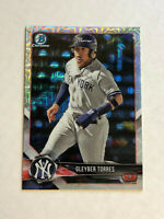 GLEYBER TORRES 2018 Bowman Chrome MEGA BOX SP RC REFRACTOR #BCP100! YANKEES!