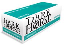 4.000 Dark Horse Filterhülsen Menthol Zigarettenhülse (20x200) #DH00809-20