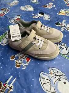 Carter's Toddler Boys Gray Ivory Shoes Size 2 NWT No Tie Parker CY Slip On