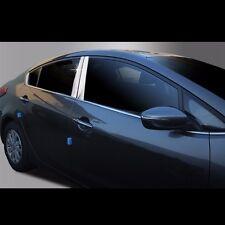 Chrome Window B Pillar Molding Guards for Kia Forte All new Cerato(K3)2013~2016