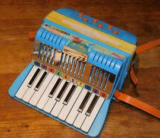 vintage Bontempi accordeon orchestra COMUS ITALY potenza pigena JOUET MUSICAL