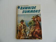 Rawhide Summons by Brett Austin, Handi-Book #121, Western 1950