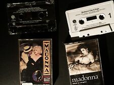 MADONNA  - Lot of 2 Cassettes  U.S. press 1984 & 1990 - Tape Stereo TESTED!