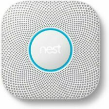 NEW Google Nest Protect Smoke & Carbon Monoxide Alarm (S3003LWES) WIRED 2nd Gen