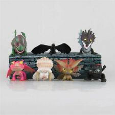 How To Train Your Dragon Set of 7pc Figures Toothless Mini Toy Doll Kid Boy Play