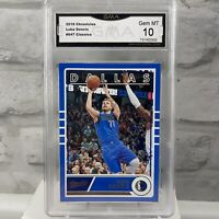 2019-20 PANINI CHRONICLES CLASSICS LUKA DONCIC #647 MAVERICKS GMA 10 Gem Mint
