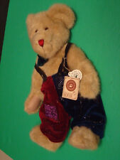 "Boyd's 14"" Mr. McSnickers Plush Bear Style #912641 T.J.'s Best Dressed Tags"