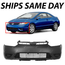 NEW Primered - Front Bumper Cover Fascia for 2006 2007 2008 Honda Civic Coupe