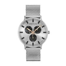 64f6276fbb5 Kenneth Cole Watch Multi-function Silver with Stainless Steel Bracelet