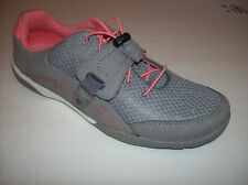New CLARKS COLLECTION Cushion Soft Gray Athletic Walking Shoes US Sz 9M