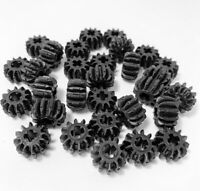 Lego Technic Gears Parts Pieces Cog 12 Tooth Bevel Black x 20pce Set 32270