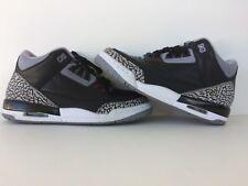 Nike Air Jordan 3 Black Cement Sz 6y 2011 Read Description