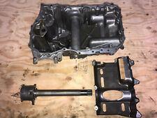 96-04 Honda Acura RL C35A 3.5L 6 cylinder Aluminum Oil Pan And mid shaft
