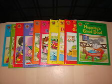10 Happy Ending Series Book Lot Vintage Children's Hoppity Chippy Jane Carruth