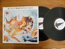 DIRE STRAITS ALCHEMY LIVE 1984 DOUBLE VINYL LP ALBUM VERTIGO VERY 11 ~ VG+ / VG+