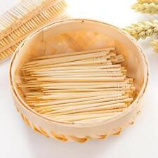 Wood Stick Bar Wooden Bamboo Toothpick Cocktail Snacks Picks about 200pcs