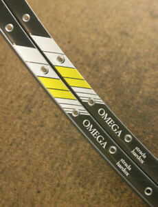 Vintage set (2) *MINT* Campagnolo Omega clincher rims rimset 700c / 36 holes