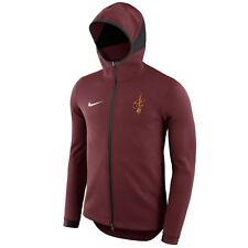 CLEVELAND CAVALIERS Showtime Hoodie Nike NBA Dry Full-Zip Jacket Mens X-Large XL
