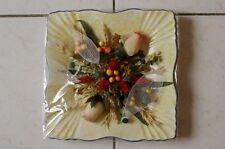 Assiette Rectangulaire Composition Fleurs Séchées