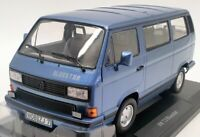 Norev 1/18 Scale Model Car 188450 - 1990 Volkswagen T3 Bluestar - Blue