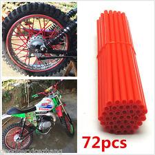 Motocross Dirt Bike Enduro Wheel Rim Spoke Skins Cover FOR Aprilia ETV1000 RED