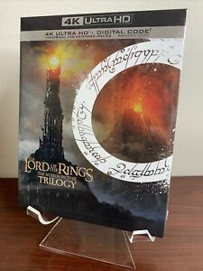Lord of the Rings Trilogy Box Set Lot (4K UHD+Digital) Factory Sealed