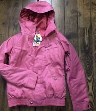 Burton Dryride Tabloid Pink Coat XS