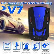 360 Degree Car 16 Band V7 GPS Safety Radar Detector Voice Alert Laser LED