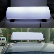 55 CM Long DIY LED Blank Taxi Cab Sign Roof Car Top Advertising Light Freeway