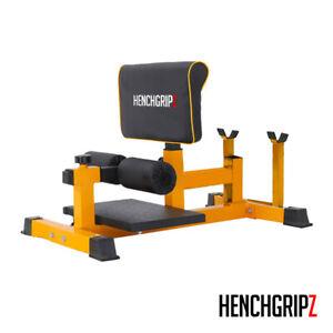 Adjustable Sissy Squat Bench Machine Stand Quad / Gym Strength Fitness Training