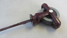 BURGUNDY Single Line Pulleys for  Airers - Household - metal body plastic wheel