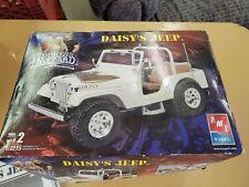 AMT ERTL The Dukes Of Hazzard Daisy's Jeep 1/25 Scale Model Kit Wrangler OPENED