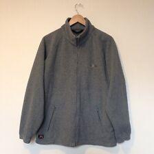 Men's Gelert Zip Up Jumper Size Medium Grey Fleece Walking Top Hiking Jacket