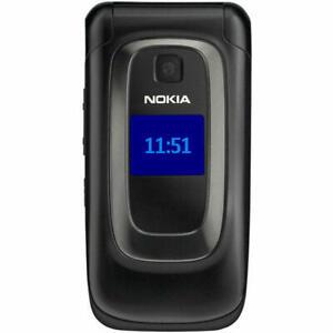 Nokia 6085h Black Flip Phone