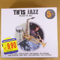 TH'IS JAZZ - THE BEST OF JAZZ - 5CD - OTTIMO CD [AS-115]