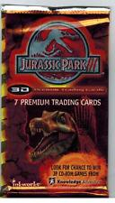 UNOPENED PACK JURASSIC PARK III TRADING CARDS 3D DINOSAURS INSERTS 2001 INKWORKS