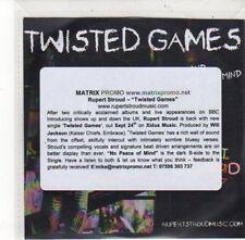 (DK960) Rupert Stroud, Twisted Games - DJ CD