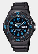 Colección Casio Caballeros Negro 100 metros MRW-200H -2 bvdf Reloj trdv Azul.