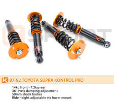 Ksport Kontrol Pro Coilovers Shocks Springs for Toyota Supra 86-92 MkIII